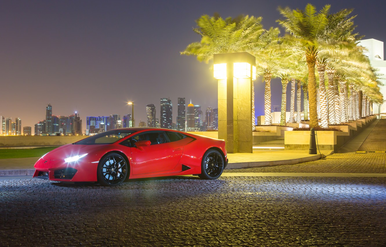 Фото обои Lamborghini, ламборгини, Huracan, хуракан, LP 580-2