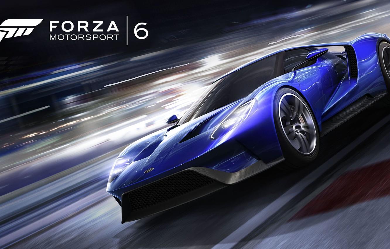 Фото обои машина, игра, суперкар, Forza Motorsport 6