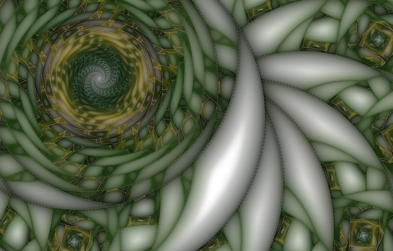 Фото обои линии, абстракция, спираль