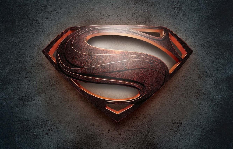 Фото обои фильм, логотип, logo, superman, movie, супер мэн