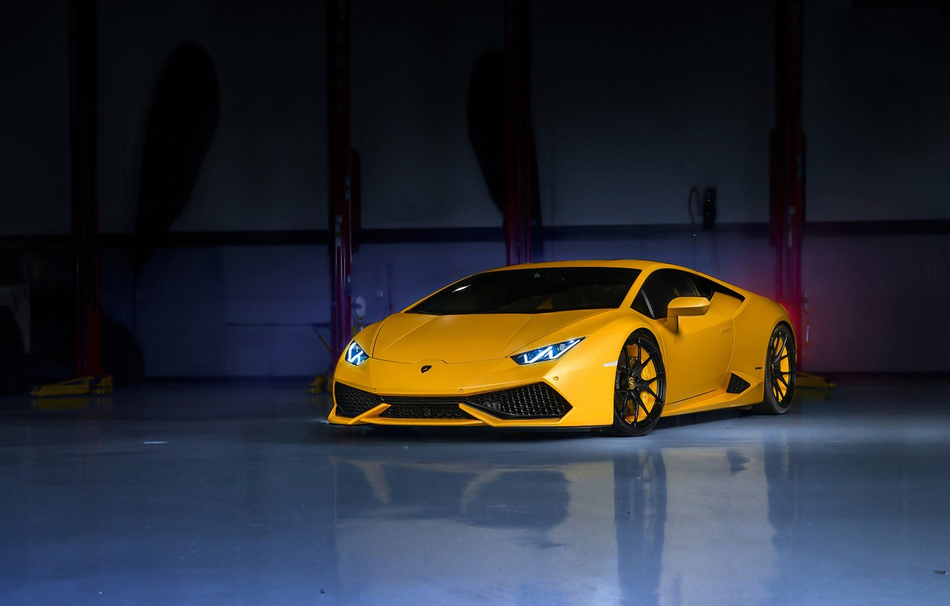 Обои wheels, Lamborghini, supercar, yellow, lp610-4. Автомобили foto 7