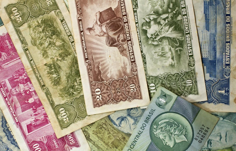 Фото обои бумага, деньги, старые, купюры