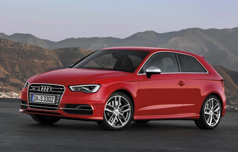 Фото обои Audi, Ауди, Красная, Машина, Red, Car, Автомобиль, Wallpapers, Красивая, Обоя