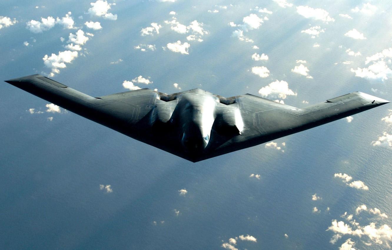 Обои стратегический, b-2 spirit, бомбардировщик, Northrop. Авиация foto 16