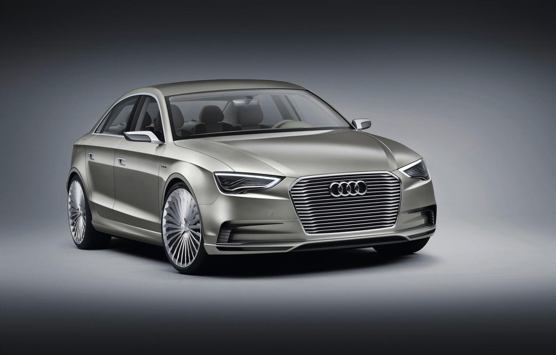 Фото обои Concept, Audi, ауди, седан, Sedan, e-Tron, электрокар