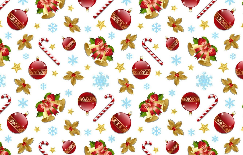 Обои снежинки, колокольчики. Новый год foto 12