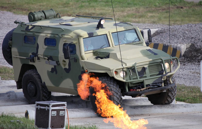 Фото обои армия, Тигр, Россия, бронеавтомобиль, армейский автомобиль-внедорожник, ГАЗ-2330