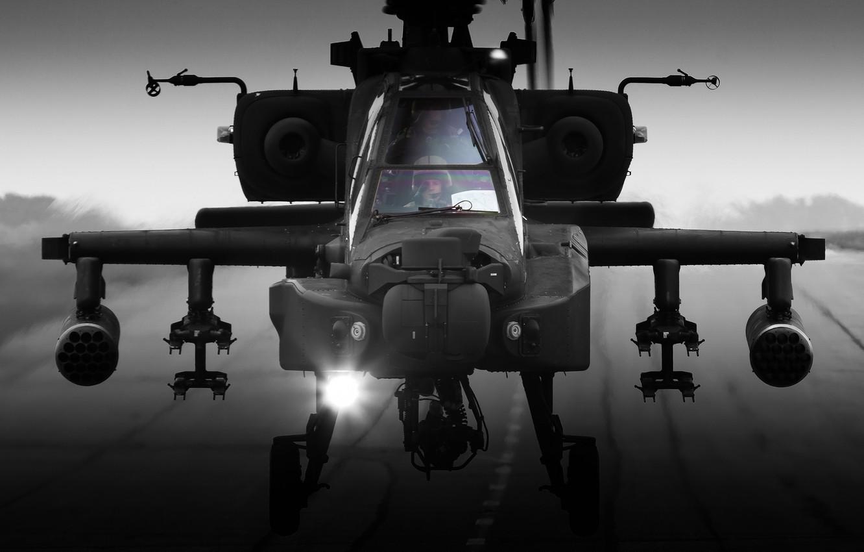 Обои ударный, Apache, дым, основной, «апач». Авиация foto 11
