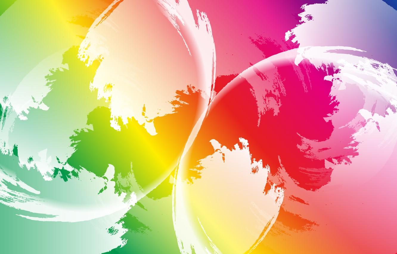 Обои шар, краски. Абстракции foto 12