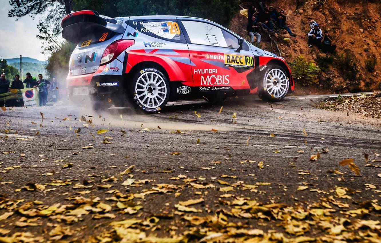 Фото обои Hyundai, WRC, Rally, i20, Шпилька, Hayden Paddon