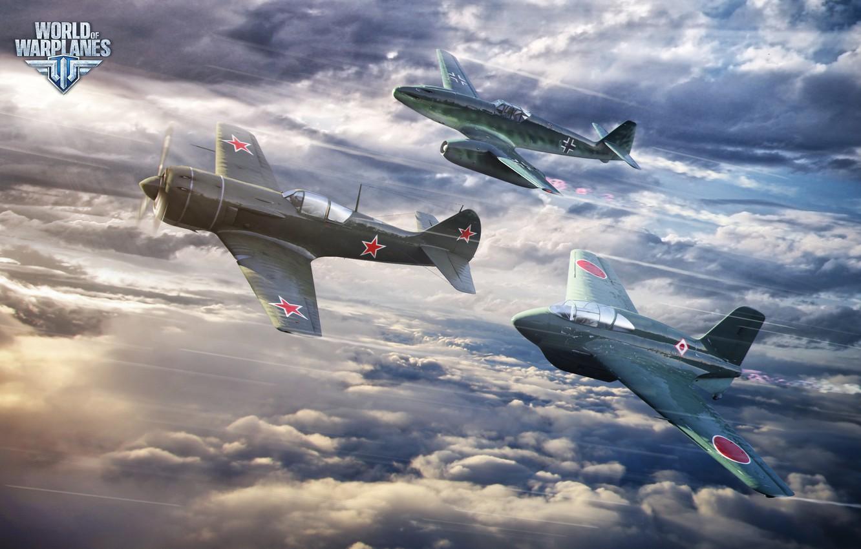 Обои wargaming.net, wowp, истребитель, рендер, Самолёт, World of warplanes. Игры foto 10
