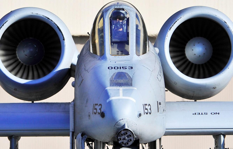 Обои republic, американский, A-10, бронированный, Fairchild, thunderbolt ii. Авиация foto 8
