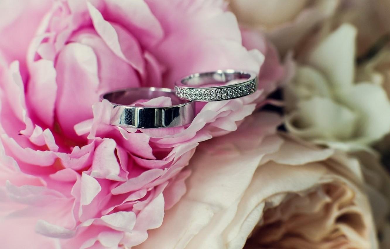 Картинки на рабочий стол свадьба кольца
