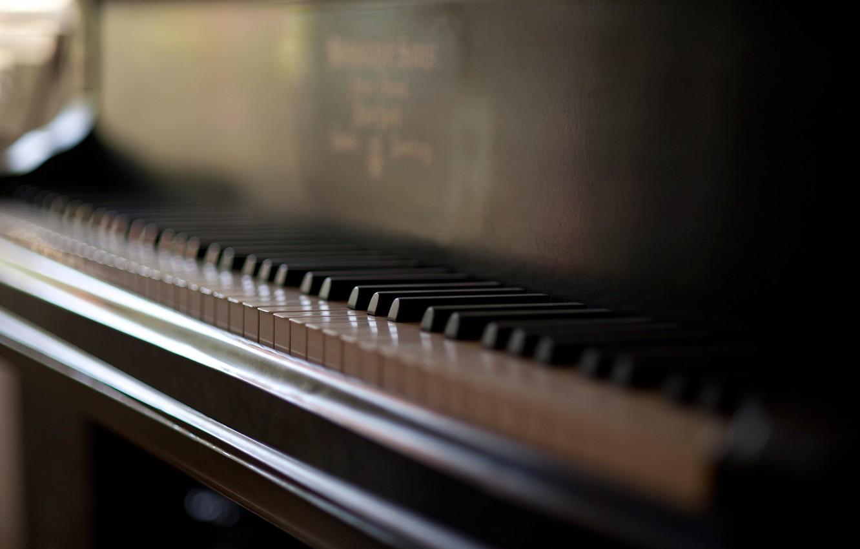 Фото обои клавиши, пианино, piano keys