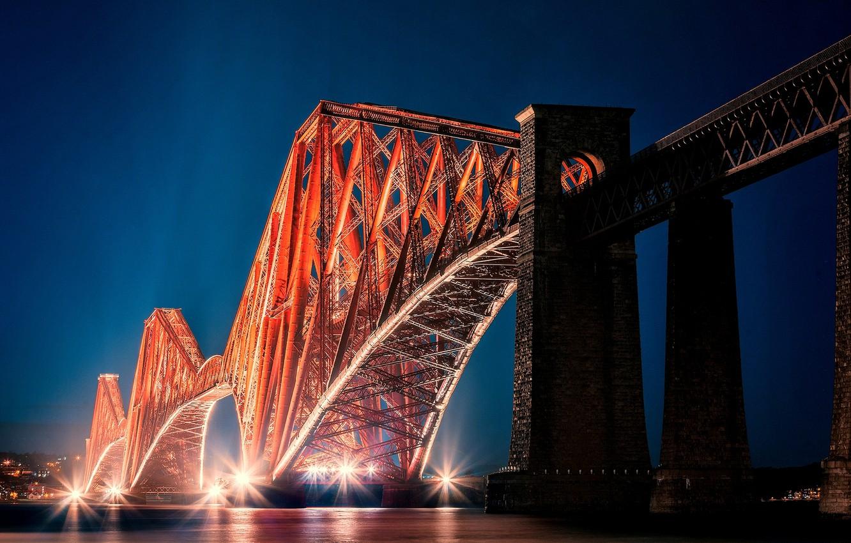 Обои alba, scotland, Шотландия, эдинбург, форт-бридж, forth bridge, edinburgh. Города foto 6
