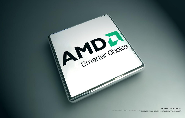 Фото обои AMD, фирма, процессор, бренд