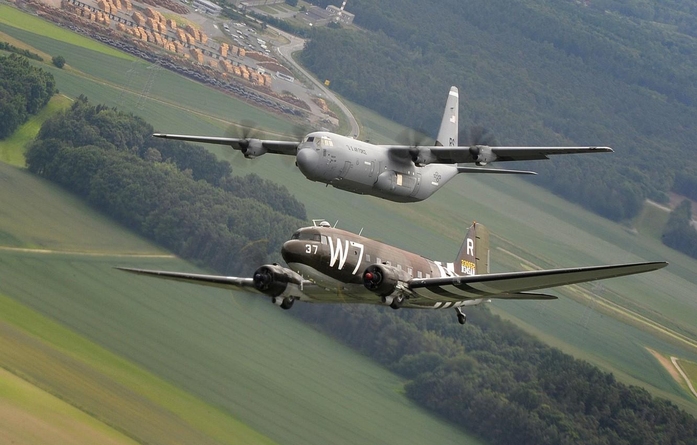 Обои C-130k, самолеты, hercules, военно-транспортные. Авиация foto 11