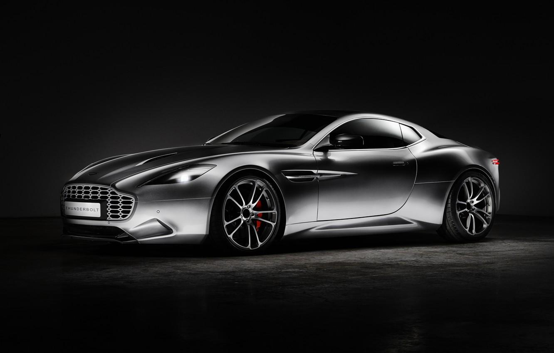 Фото обои Aston Martin, астон мартин, суперкар, Thunderbolt, 2015, Galpin