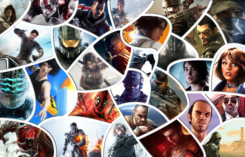 Фото обои batman, Crysis, Halo, Call of Duty, Far Cry, stalker, bioshock, tomb raider, God of war, …