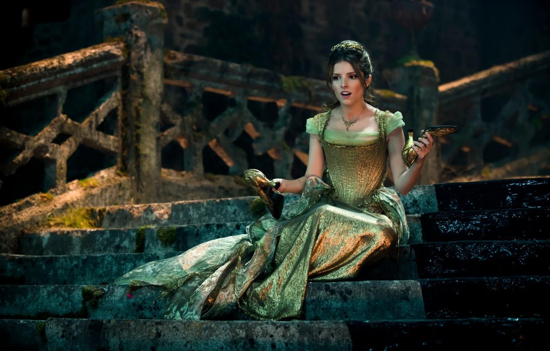 Фото обои Золушка, Cinderella, Anna Kendrick, Чем дальше в лес, мюзикл, Into the Woods