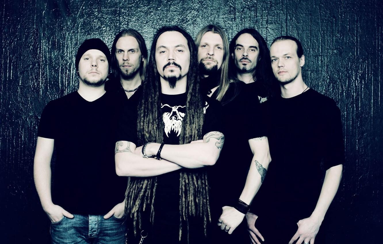 Фото обои metal, death metal, progressive metal, Amorphis, finnish