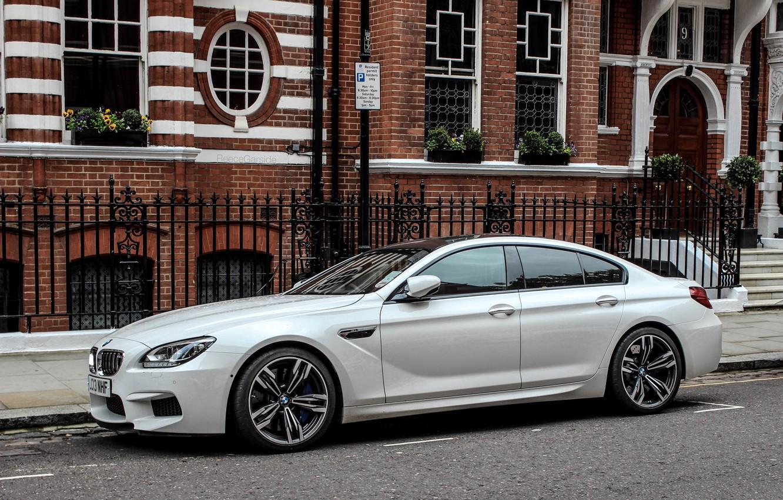 Фото обои BMW, Улица, БМВ, Gran Coupe, Street
