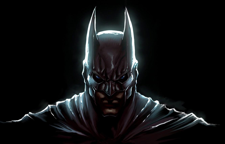 Фото обои batman, the dark knight, маска, art, bruce wayne