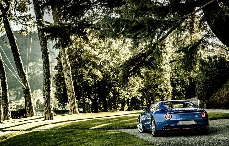 Фото обои Ferrari, феррари, Berlinetta, Touring, 2015, Lusso