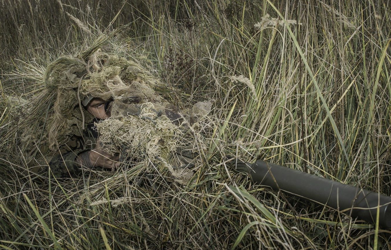 Фото обои солдат, sniper, Canadian Armed Forces