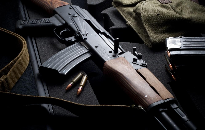 Фото обои оружие, автомат, Калашникова, китайский ак 47