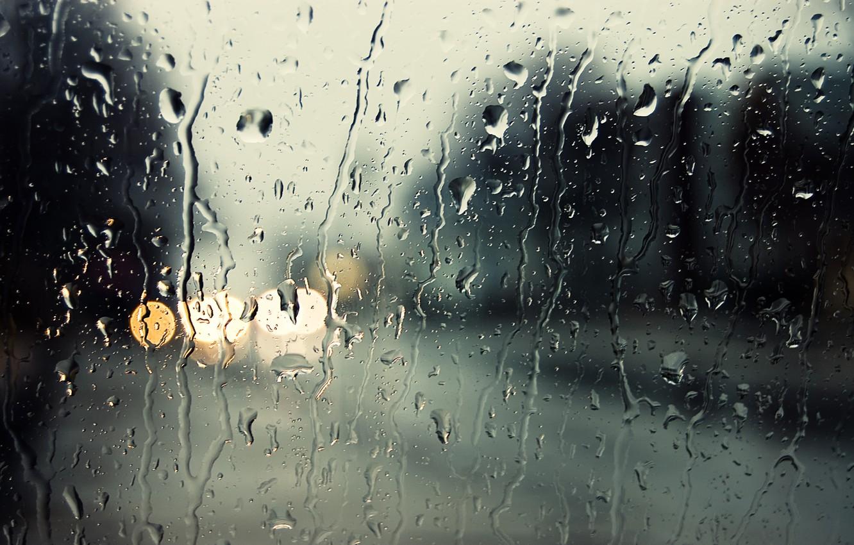 Обои капли, дождь, стекло. Разное foto 6