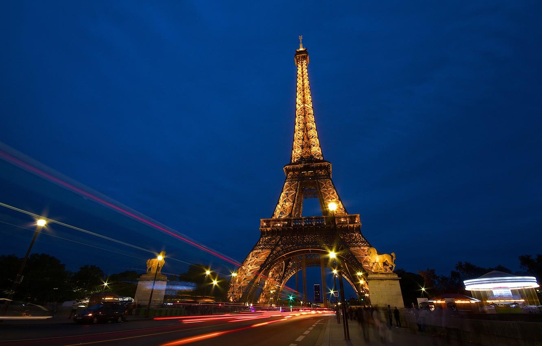 Обои france, paris, la tour eiffel, Эйфелева башня. Города foto 9