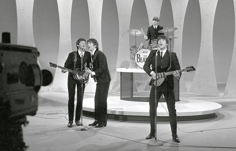 Фото обои музыка, The Beatles, Rock, Битлз, Beatles, Легенда, талант, великие, Джордж Харрисон, Джон Леннон, четверка, Пол …