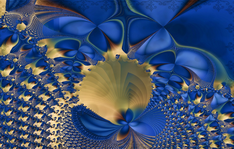 Обои форма, Цвет, абстракция, Fractal. Абстракции foto 10