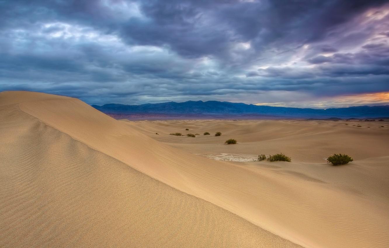 Фото обои песок, небо, фото, widescreen, пустыня, пейзажи