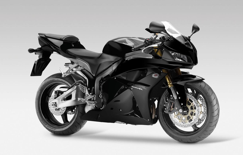 Фото обои Honda, black, CBR600