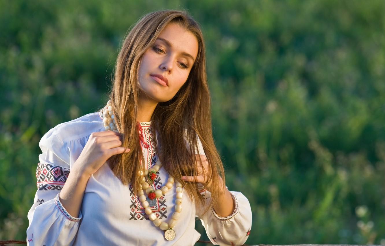 Фото обои лето, девушка, настроение, портрет, красота