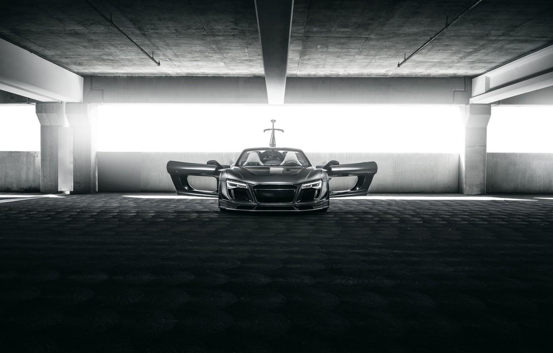Фото обои Audi, Carbon, Black, Spyder, Exotic, Fast, eGarage, PPI Razor