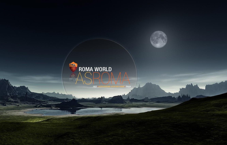 Фото обои world, wallpaper, Italy, football, AS Roma