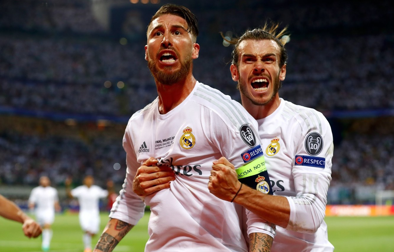 Фото обои футбол, победа, футболист, real madrid, реал мадрид, football, champions league, Реал Мадрид, Real Madrid, Лига …