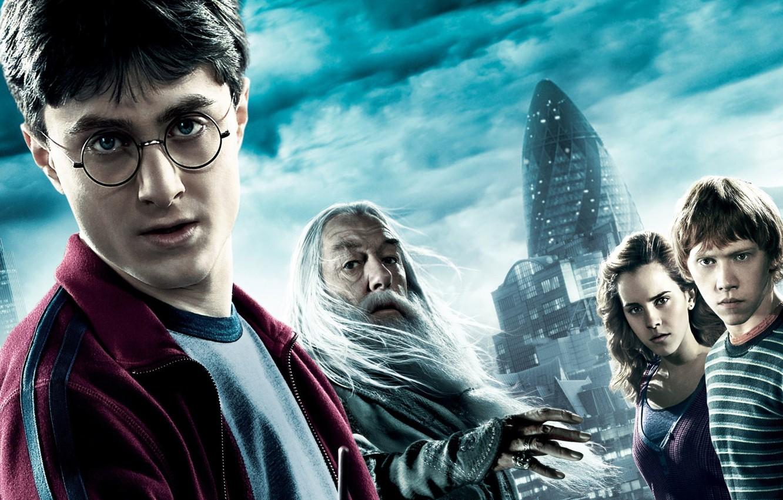 Фото обои Очки, Гарри, Movie, Harry Potter And The Half-blood Prince
