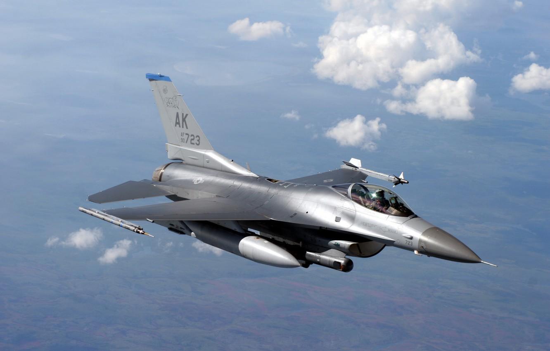 Обои Самолёт, F16. Авиация foto 7