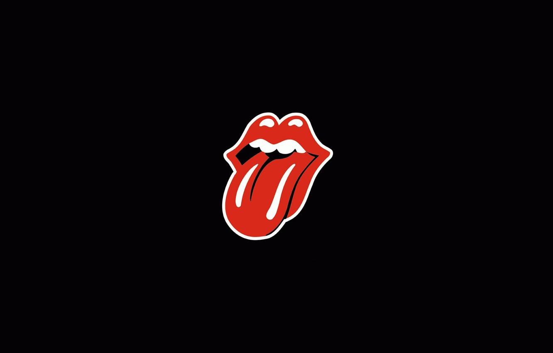 Фото обои Логотип, Rock, Rolling Stones