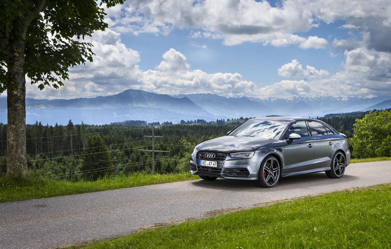 Фото обои Audi, ауди, Sedan, ABT, 2014