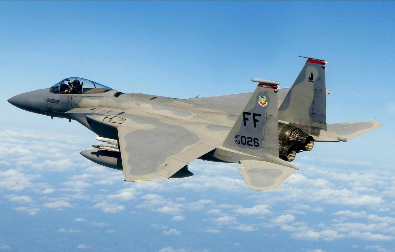 Обои Mcdonnell douglas, истребитель, Самолёт, eagle, Облака. Авиация foto 6