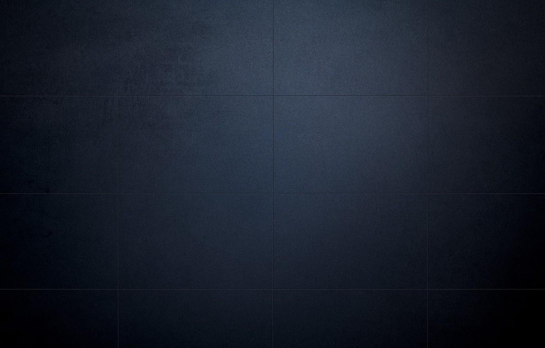 Фото обои свет, синий, полосы, фон, стена, темный, тень, блоки, минимализм, градиент