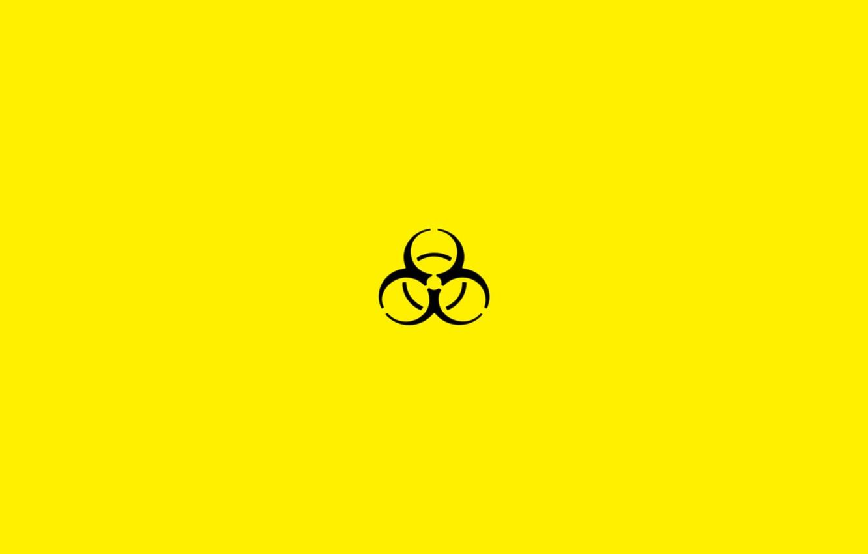 Обои эмблема, биологическое заражение, знак, опасность. Разное foto 10