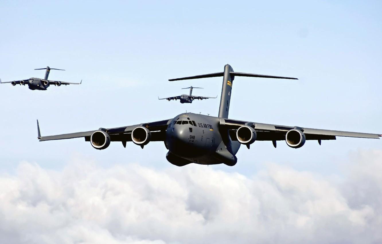 Обои самолеты, c-17 globemaster. Авиация foto 10