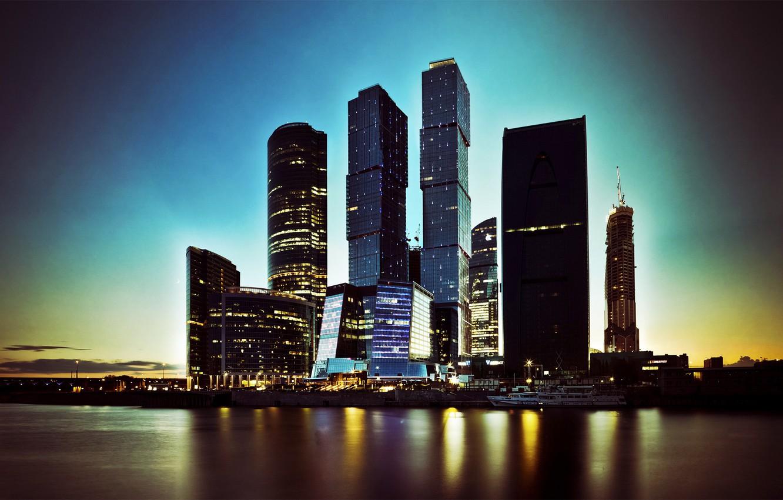 Обои москва сити, небоскребы, venitomusic. Города foto 6