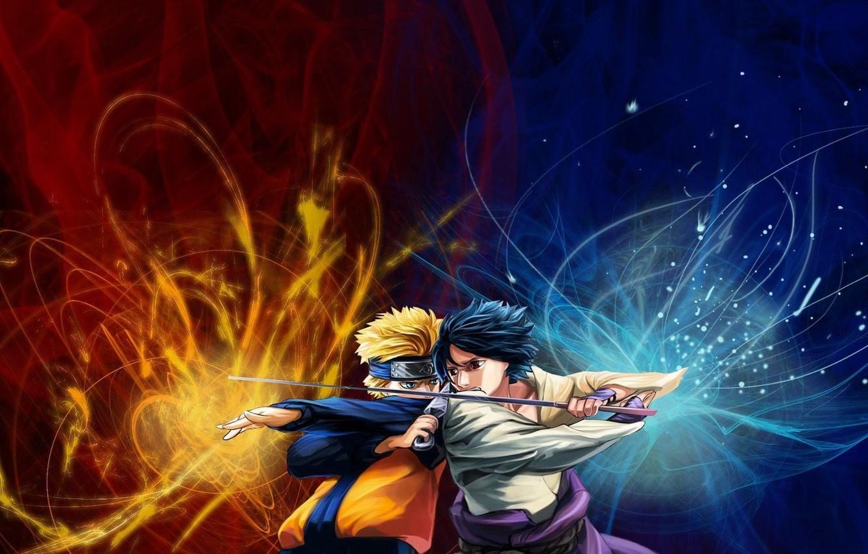 Фото обои Саске, Sasuke, нинзя, Shippuuden, чидори, девятихвостый, Ураганные хроники, Наруто, Naruto